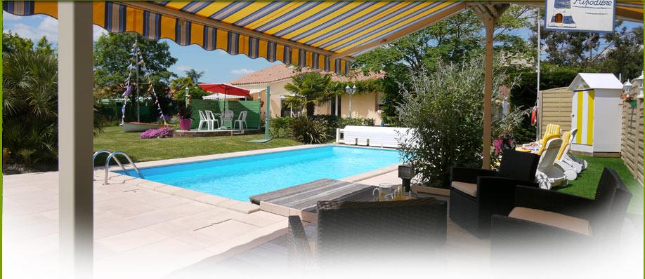 Chambres d 39 hotes avec piscine chauff e aizenay vend e - Chambres d hotes aveyron avec piscine ...
