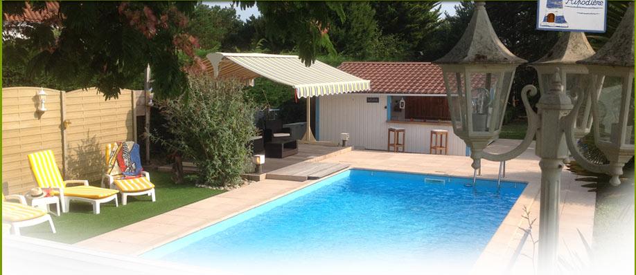 Chambres d 39 hotes avec piscine chauff e aizenay vend e - Chambre d hote avec piscine chauffee ...